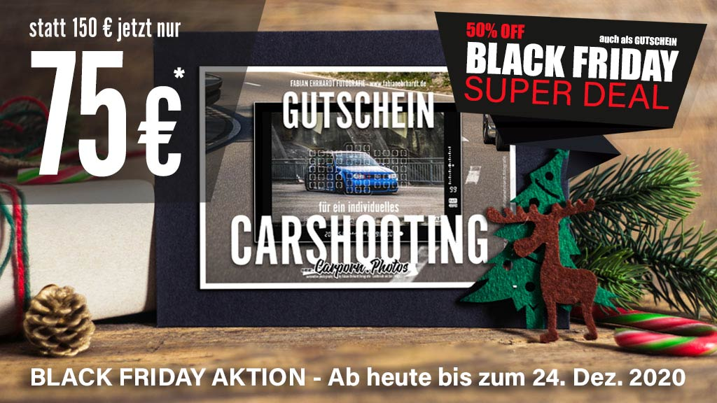 Carporn Aktion BLACK FRIDAY 2020